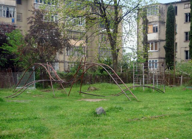 Фото: Гагра, детская площадка