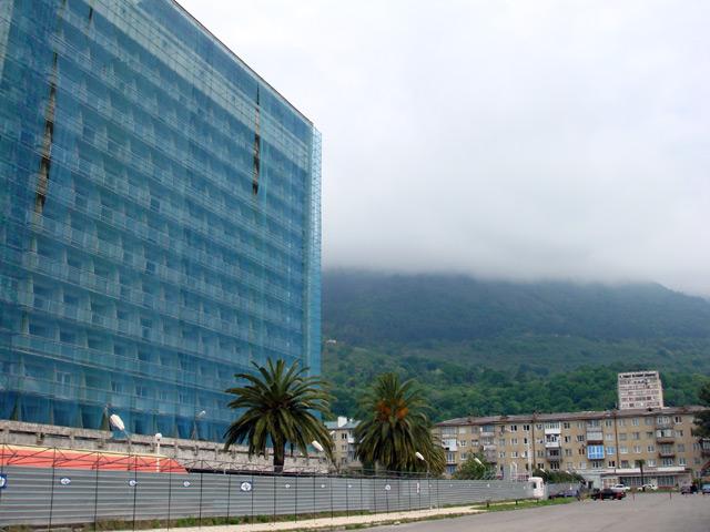 Фото: гостиница Абхазия в Гагре