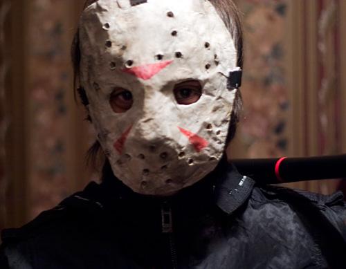 Я в маске Джейсона из фильма Пятница 13