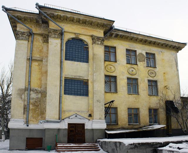 Фото: Школа-интернат в Севастополе