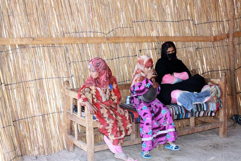 В деревне бедуинов