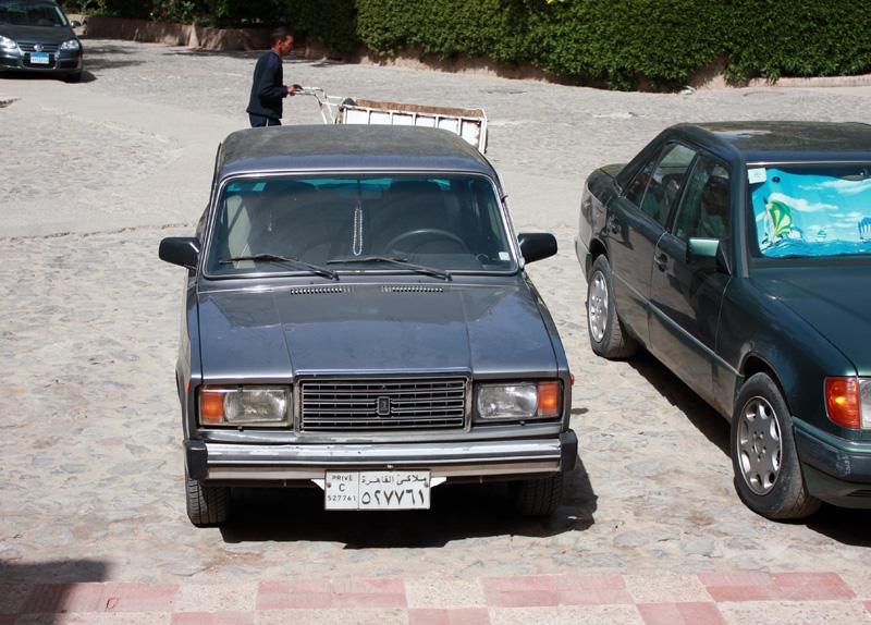 машины египтян