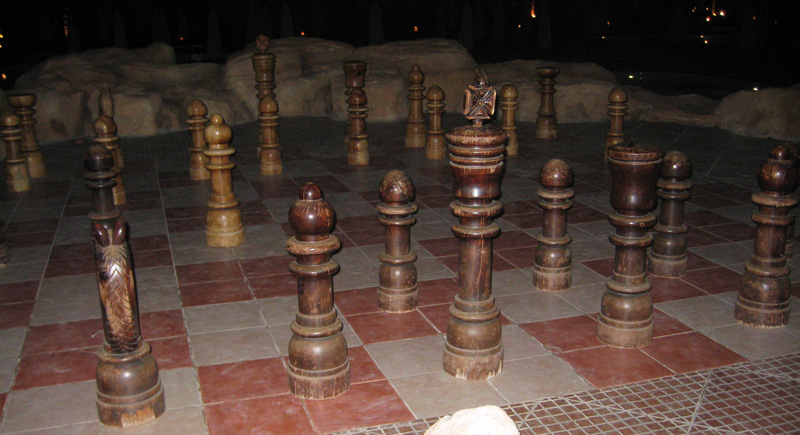 Шахматы в отеле Makadi Stella