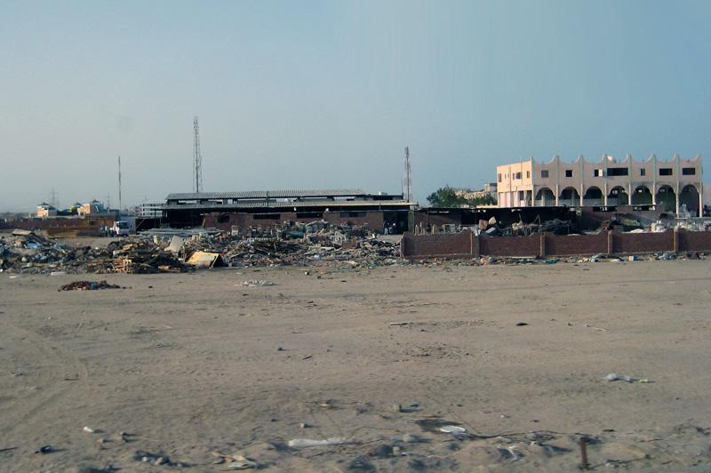 грязная пустыня Египта