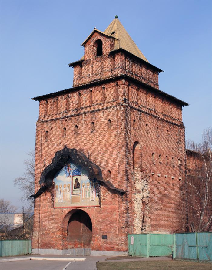 Фото: Башня Коломенского кремля