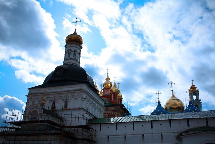 Церкви Свято-Троицкой Сергиевой Лавры