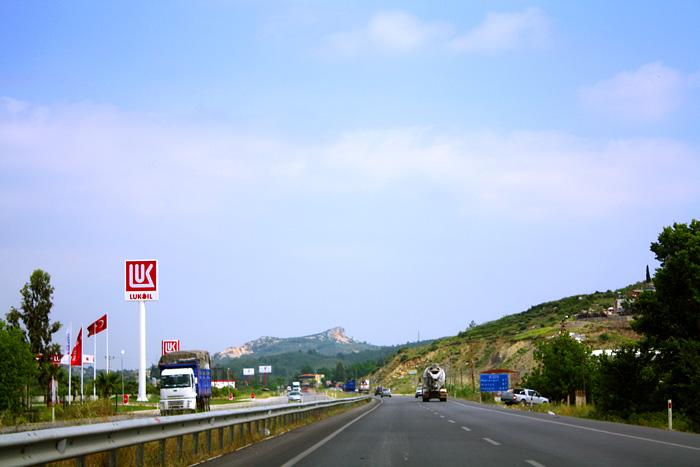 Заправка Лукойл в Турции