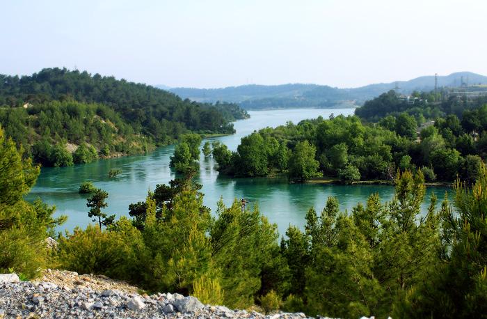 Озеро в Зелёном каньоне