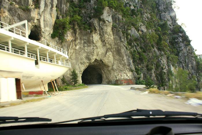 Тоннель в горе
