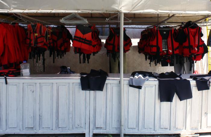 Спасательные жилеты для рафтинга