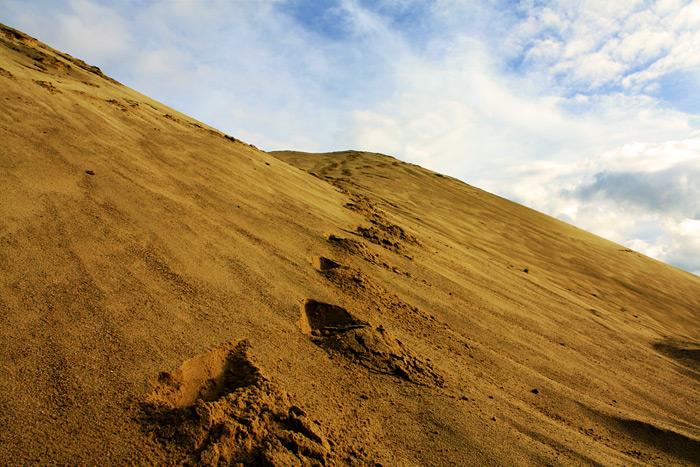Фото: песчаные дюны в Сычёво