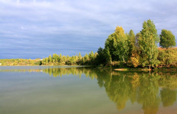 Озеро в Сычёво