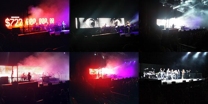 Фото с концерта Massive Attack в Москве 24 сентября 2010
