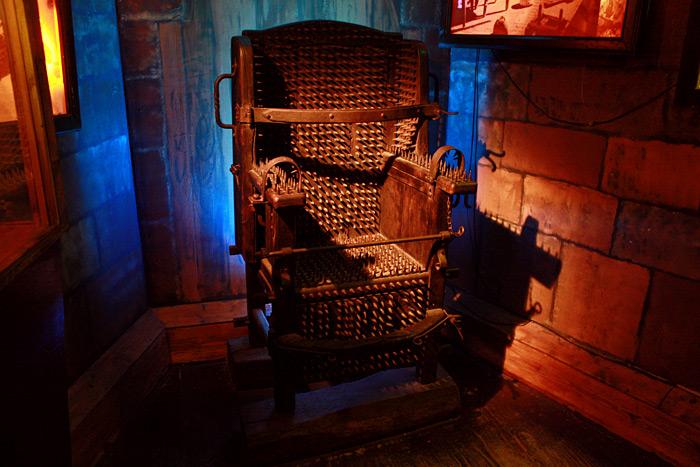 Фото: музей пыток в Амстердаме