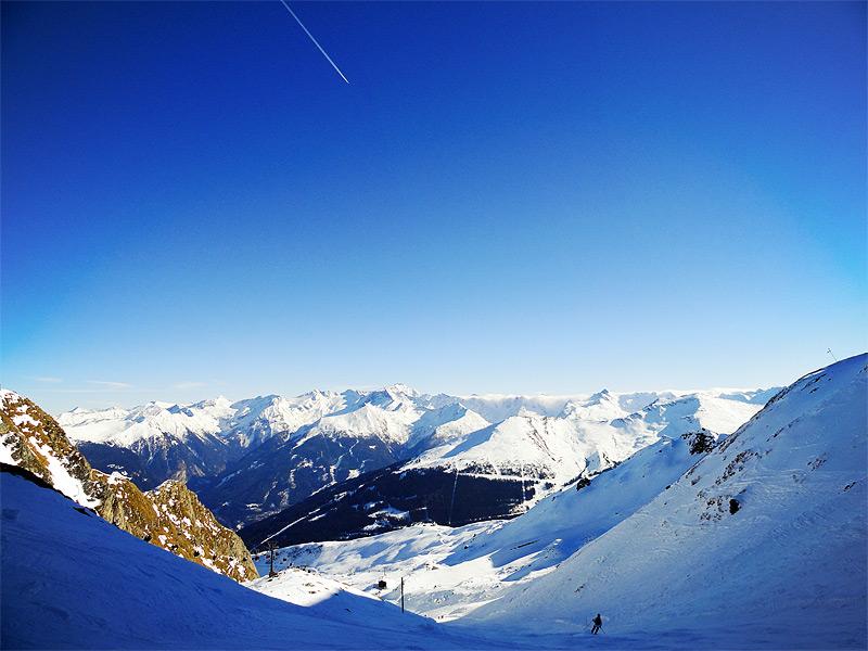 на самом верху Альп в Bad Gastein