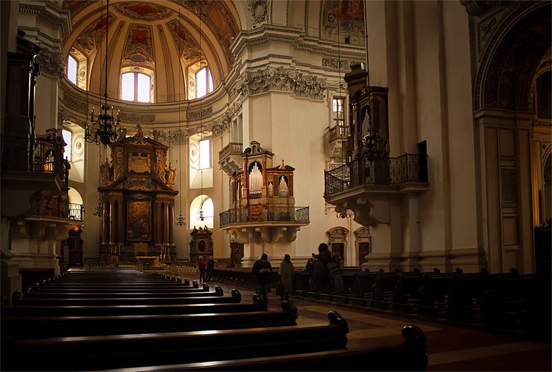 Фото: в кафедральном соборе Зальцбурга