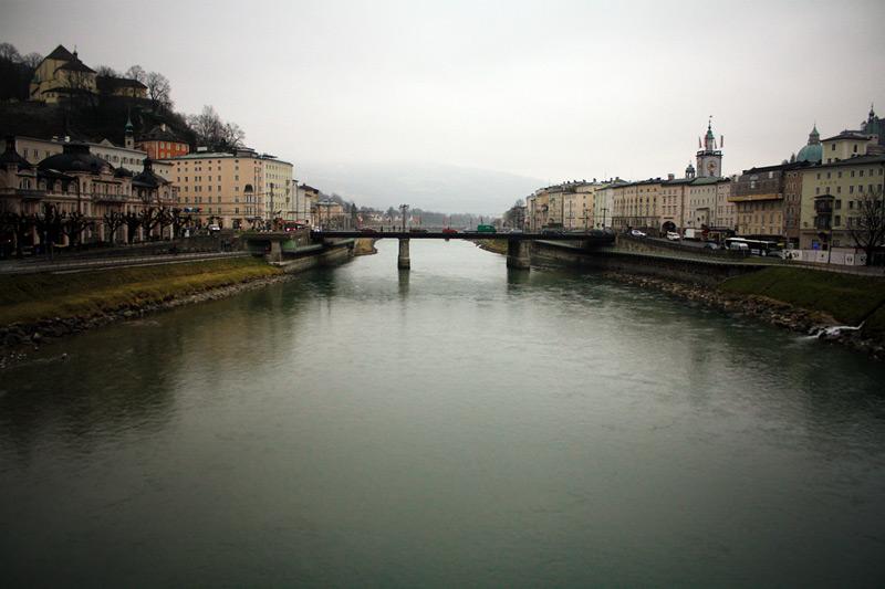 вид на реку Зальцах