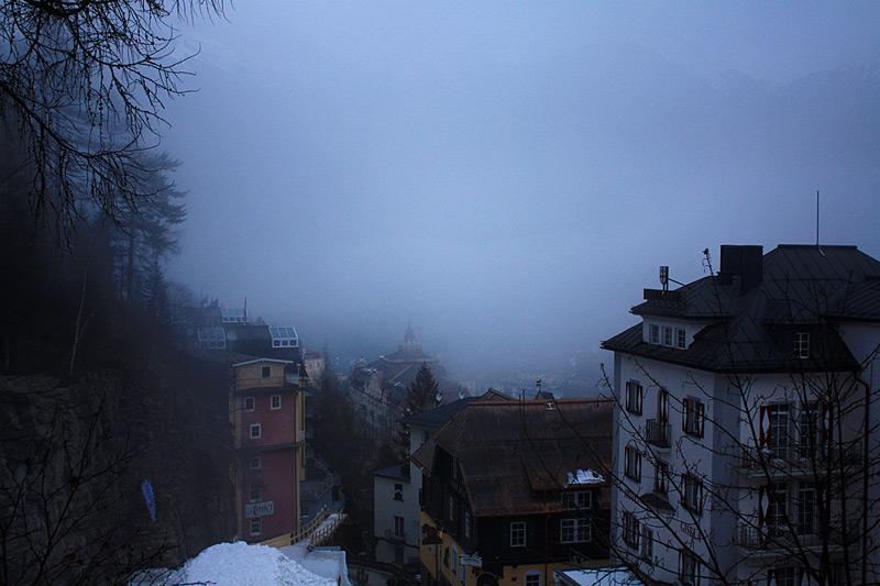 туманы в Bad Gastein