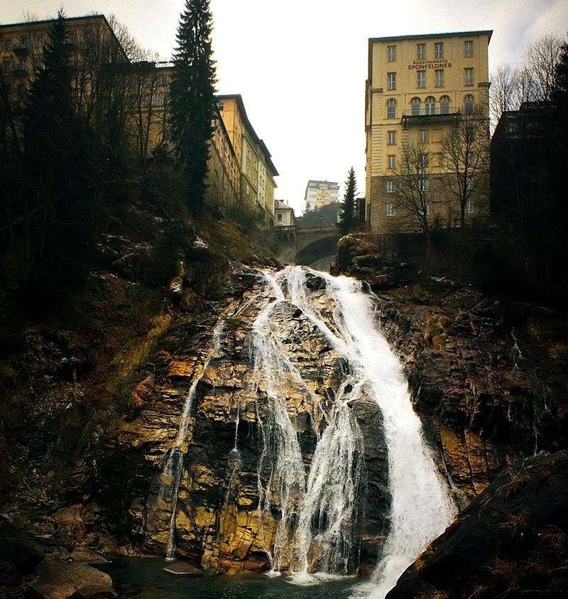 водопад в Bad Gastein