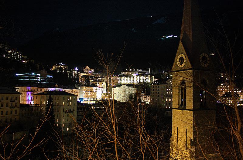 ночь в Bad Gastein