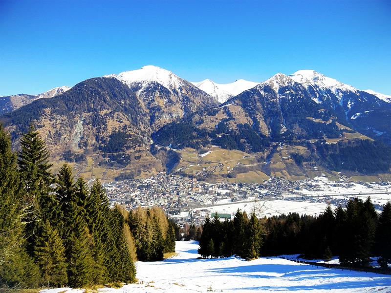 Bad Gastein, в горах
