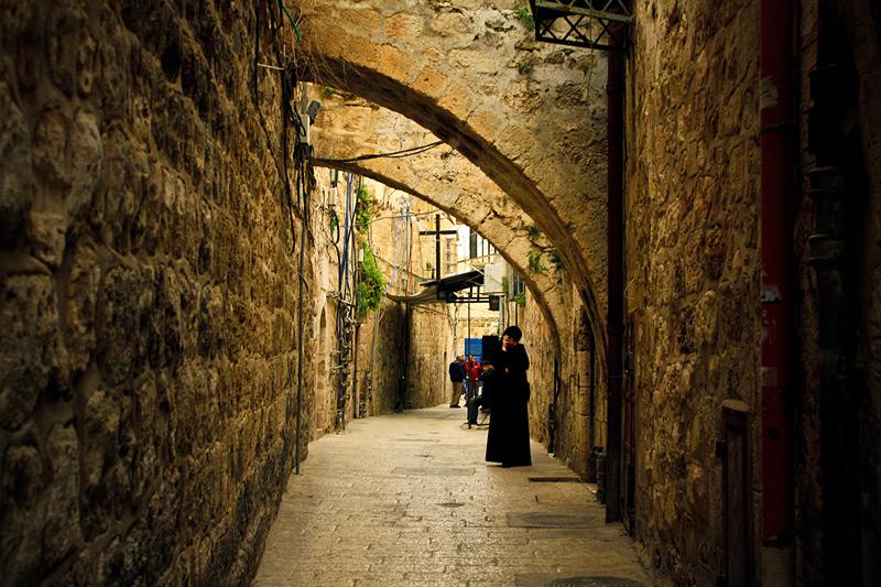 Фото: Улочки в стенах старого Иерусалима