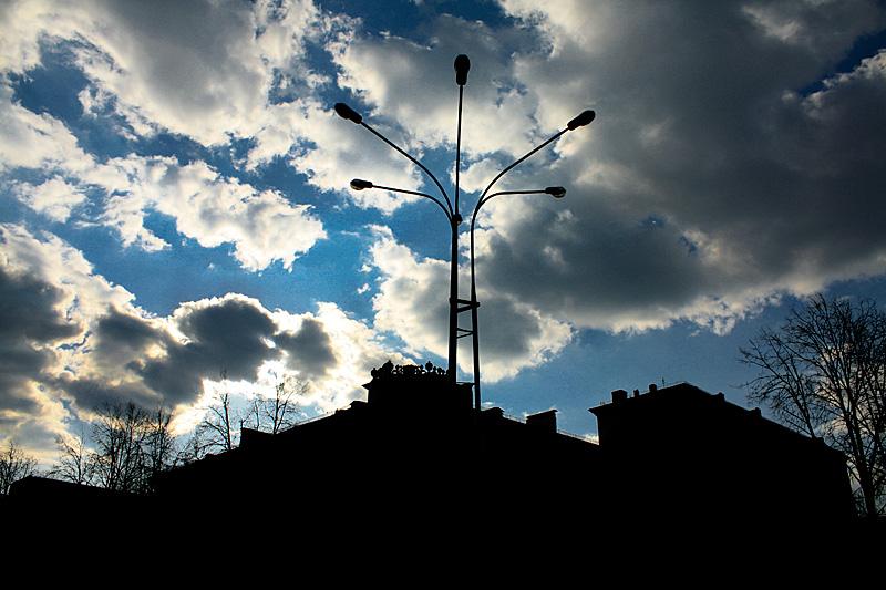 Фото: Небо Минска