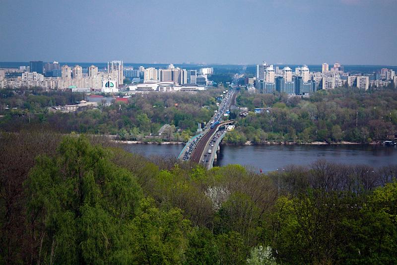 Фото: вид на Киев