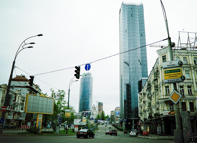 Небоскребы Киева