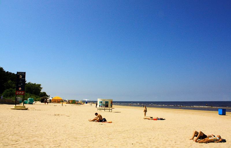 Фото: Пляж Юрмалы
