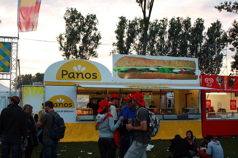 Фастфуд Panos в Бельгии