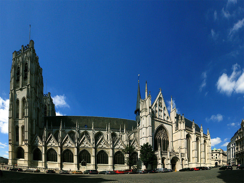 Фото: собор в Брюсселе