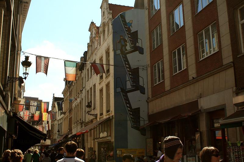 Фото: Уличное искусство в Брюсселе