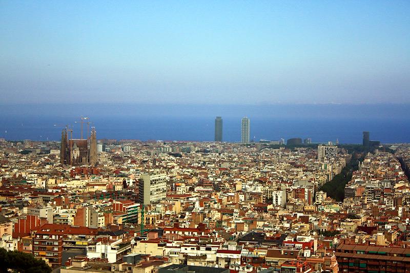 Фото: Барселона сверху