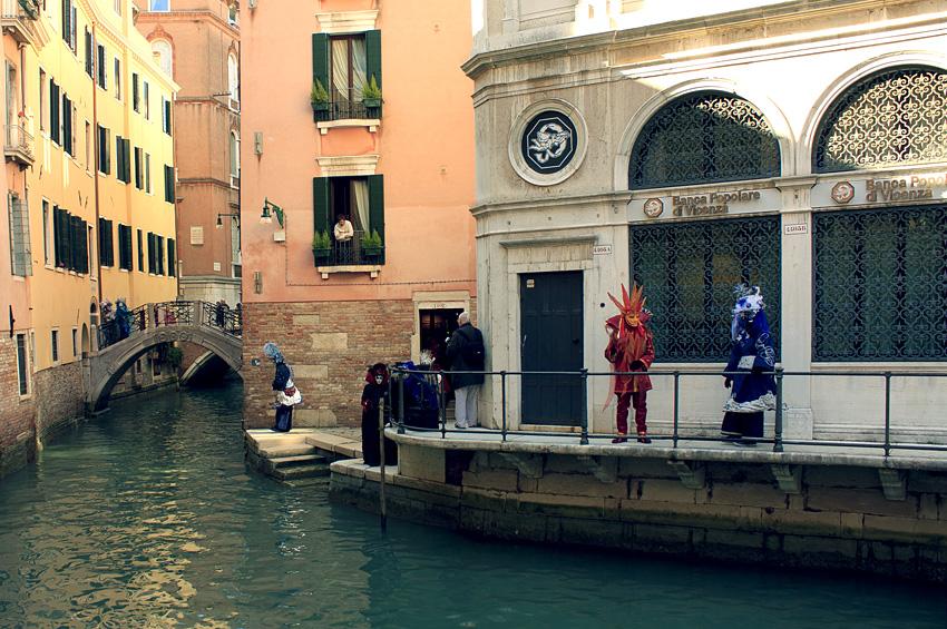 Венеция и костюмированный карнавал