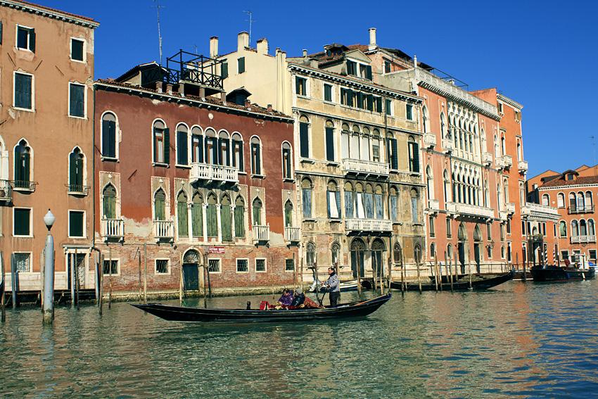 Италия, Венеция, каналы