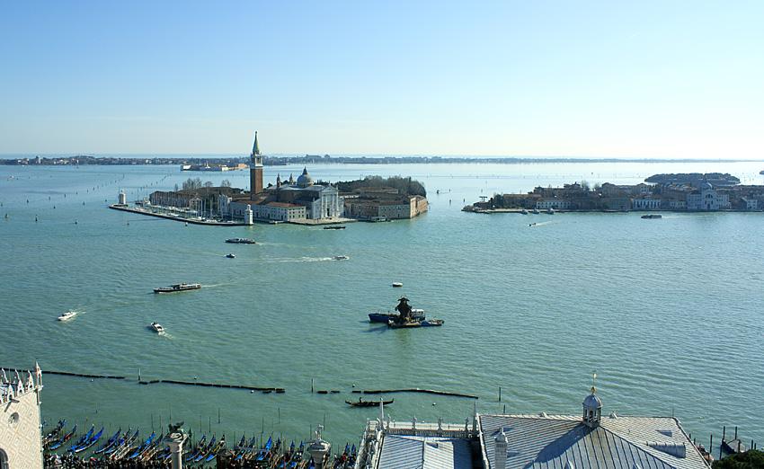 Фото: Венеция с колокольни