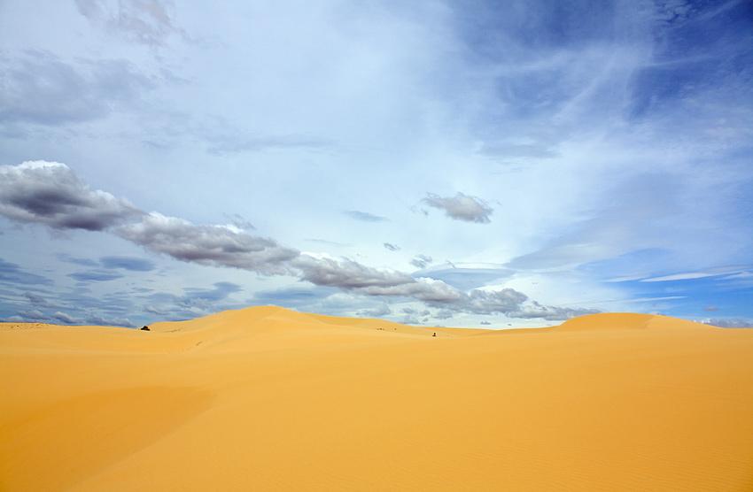 Песчаные дюны в Муйне, Вьетнам