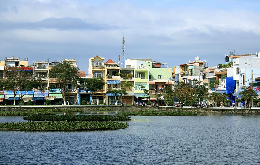 Озеро в Дананге