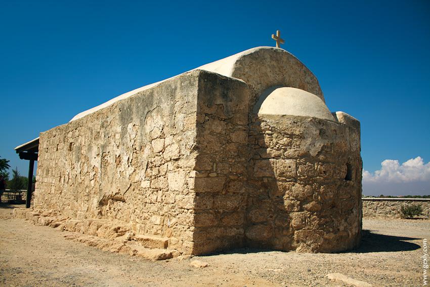 древняя Кипрская церквушка