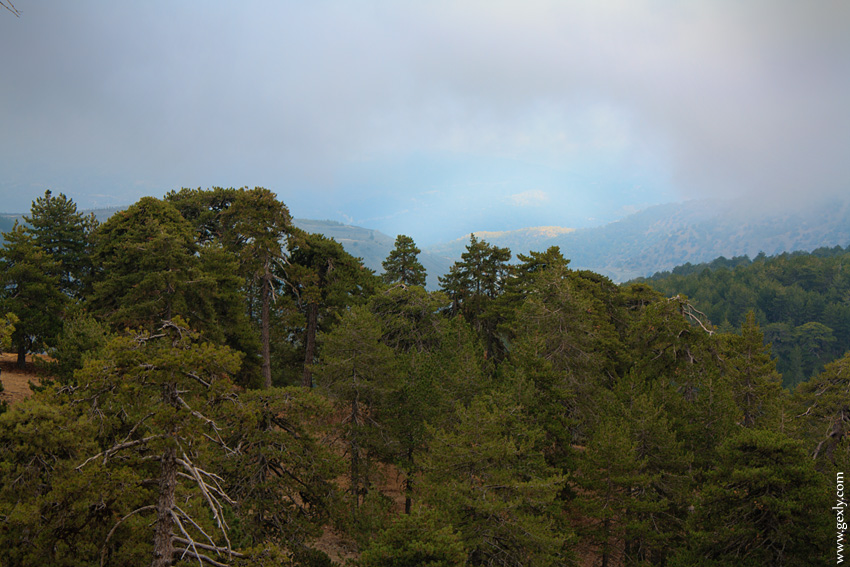 Фото: Тродос, вид с гор