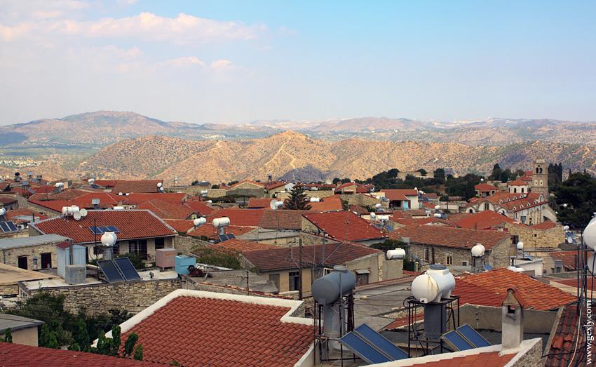 Кипр: деревушка Лефкара