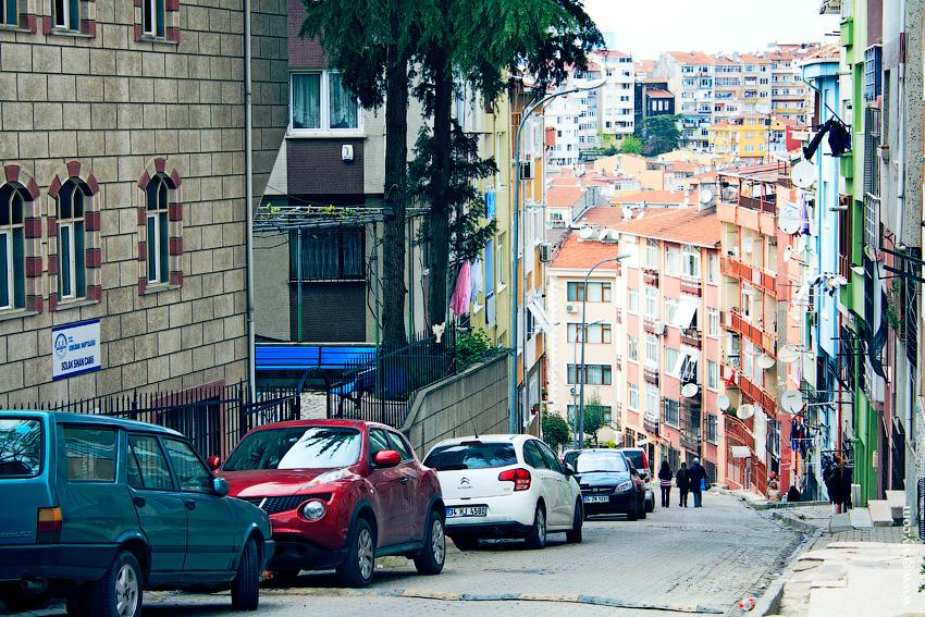 Спальный район Стамбула