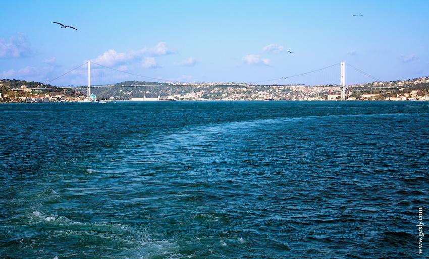 Стамбул: мост Европа-Азия