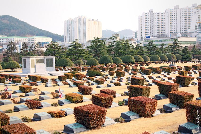 Пусан, кладбище ООН