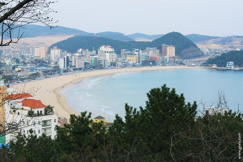 Фото: Пусан, пляж
