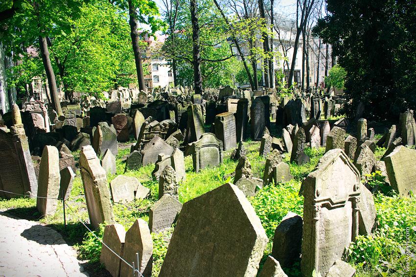 Старое еврейское кладбище Праги